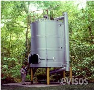 Vendo 2 hornos industriales para producir carbon