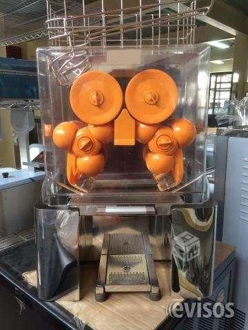 Maquina extractora de naranjas