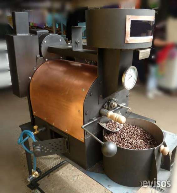 Maquina tostadora a gas