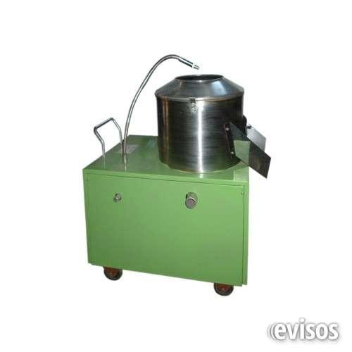 Peladora de papas de 12 kilos