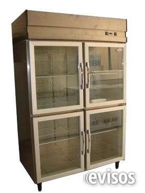 Refrigerador industrial puertas de vidrio