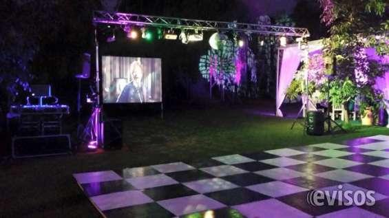 Dj dvj fiestas musica luces videos arriendo