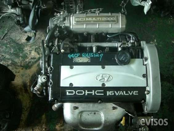 Motor hyundai sonata y santamo 2.0cc