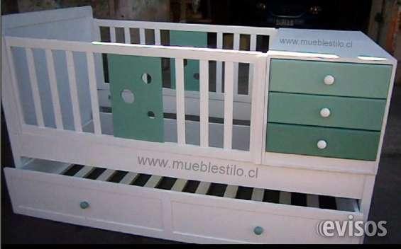 Muebles de bebés, cunas para bebes convertibles a medida en Santiago ...