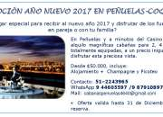 Arriendo Cabañas AÑO NUEVO 2017 EN PEÑUELAS, Coquimbo