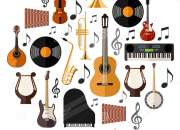 Clases de guitarra ,piano,flauta traversa, bajo electrico etc.