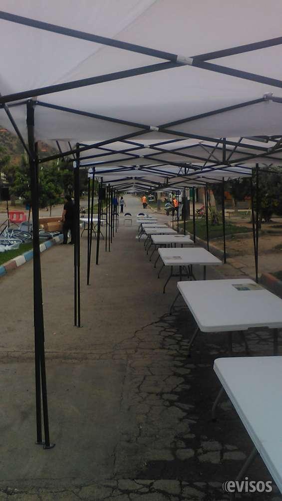 Arriendo sillas mesas toldos para eventos