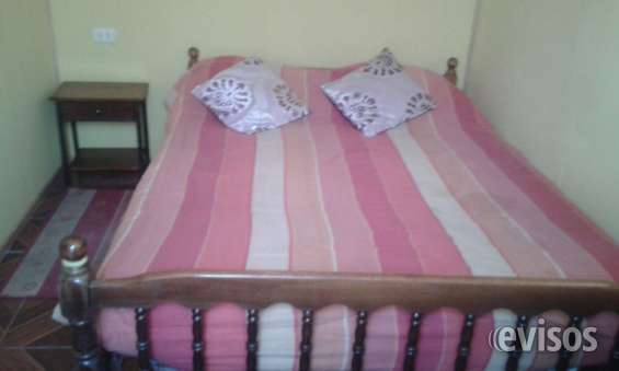 Casa 1 dormitorio 30000 arriendo diario max 3 pers