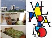 arriendo amoblado diario a turistas en valparaiso