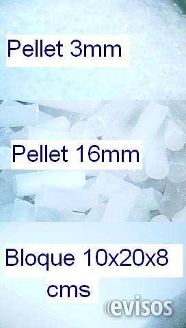 Hielo seco en pellets y ladrillos (valor entregado en destino)