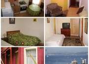 alojamiento en valparaiso, arriendo diario amoblado full centrico, comodo y seguro