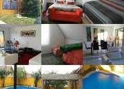 Arriendo linda casa con piscina de marzo a diciembre