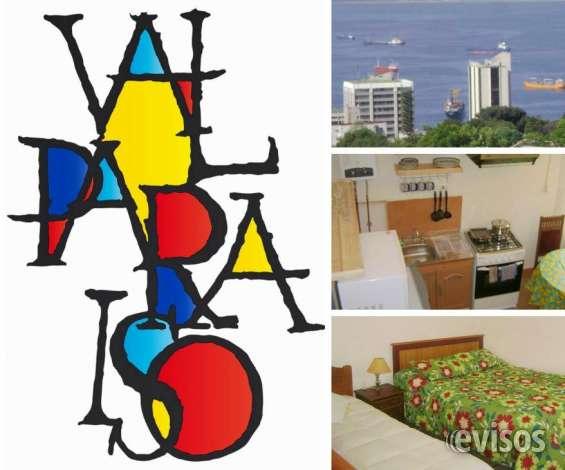 Arriendo diario apartamento amoblado, 1 dormitorio amplio, cómodo y seguro, wifi, cable