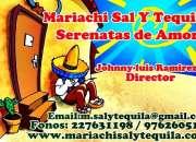 Mariachi sal y tequila y su charro del amor