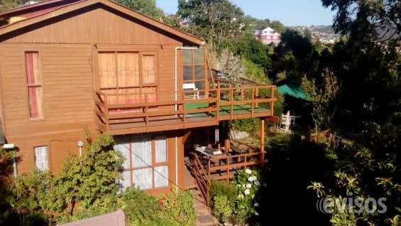 Cabaña de 2 pisos.