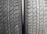 2 neumáticos impecables bridgestones uno  255-70-16 y el otro  265-70-16