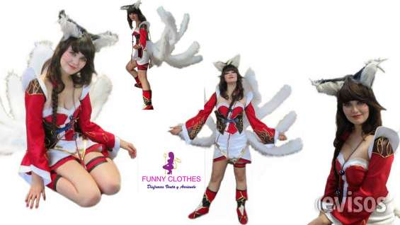 Disfraces cosplay elaborado