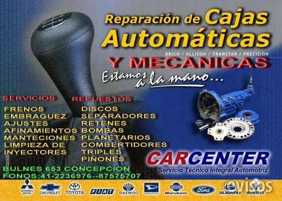 Cajas automaticas venta y reparacion. repuestos todas las marcas