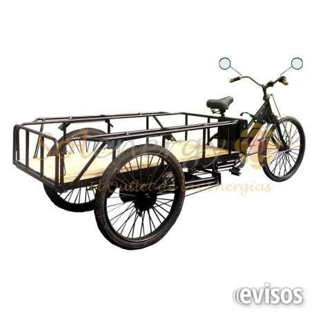 Triciclo electrico cargo sin baterias