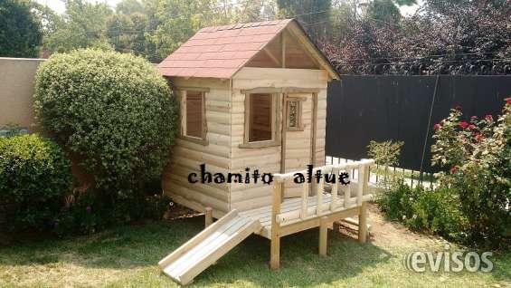 Casa de madera para nios casas de muecas t play for Casas madera ninos jardin