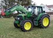 Se vende tractor john deere 6430 con cargador del año 2007