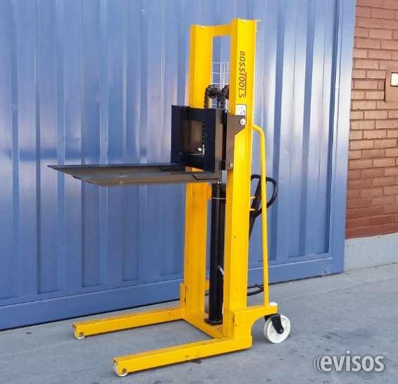 Apilador manual hidraulico capacidad de carga 1.000 kg