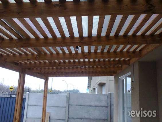 Cobertizos, terrazas, pérgolas -- en su casa trabajamos 1 día