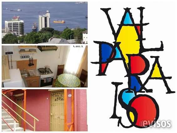 Valparaiso arriendo diario apartamento amoblado independiente 1d,1b wasap +56 958505612