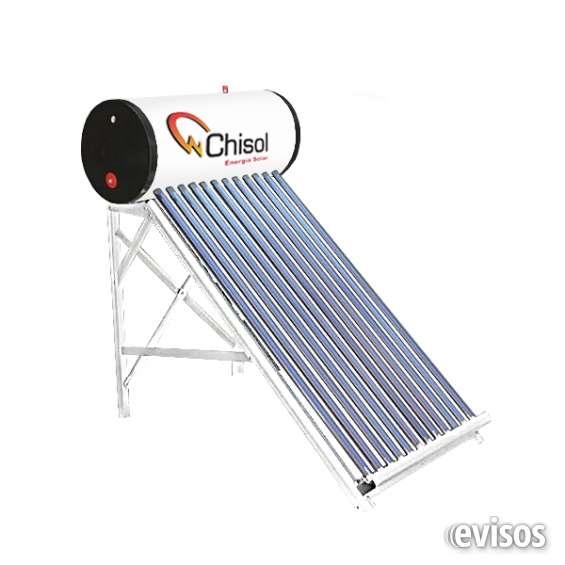 Calentador de agua termo solar atm 85l 12 tubos
