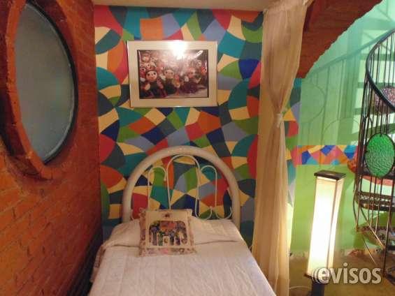 Casa tistik, cuenta con varias habitaciones suites amuebladas, con cocineta,sur cd méxico