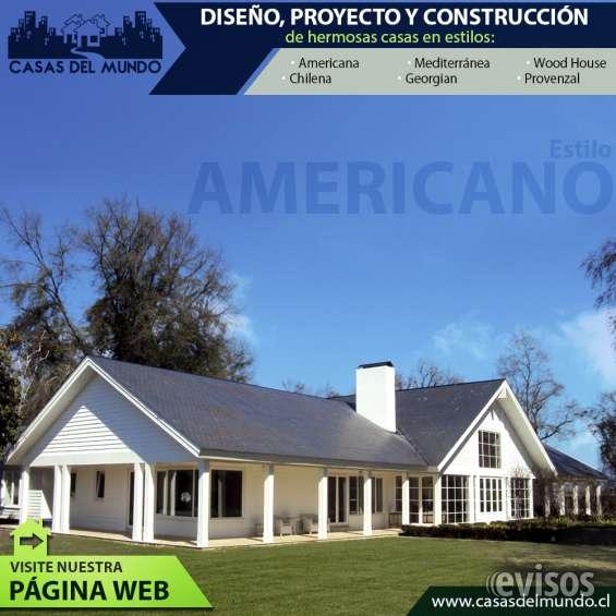 Casas mediterraneas, americanas, wood house