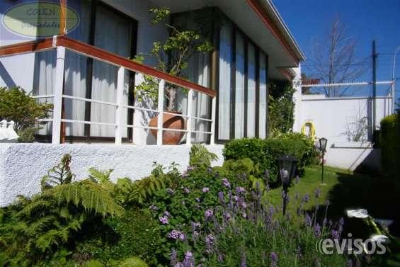 Excelente casa en venta , jardin del mar - reñaca vc417