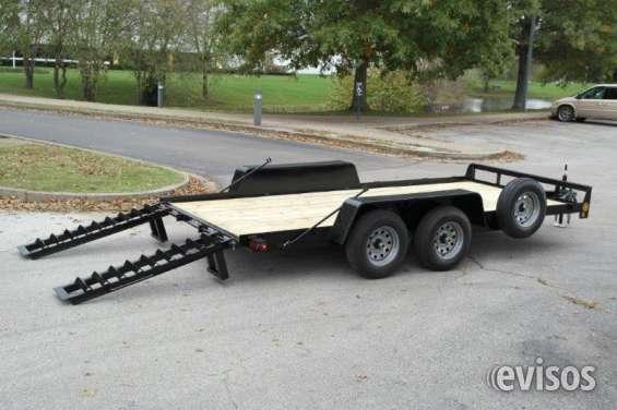 Carro de remolque 18 pies gtxt gator usa para equipos 10400 lbs
