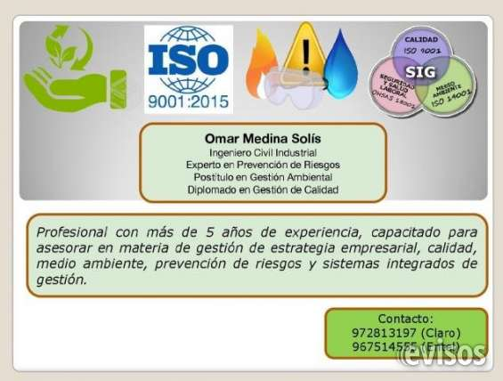 Ingeniero civil industrial se ofrecese