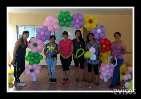 Curso decoración con globos 9 abril