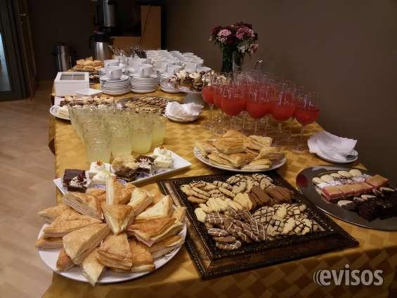 Coffee break santiago servicio de catering para reuniones de empresas.