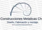 Diseño, construcción y montajes de estructuras metálicas.