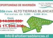 OPORTUNIDAD PARCELAS, San Felipe, V Región. desde  $ 11.990.000.-