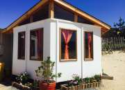 Cabañas equipadas para 6 personas en el tabo