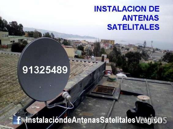 Instalacion y orientacion de antenas parabolicas v region