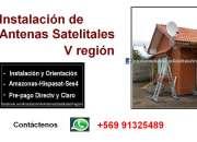 Orientacion de antenas +569 91325489 parabolicas  quinta region
