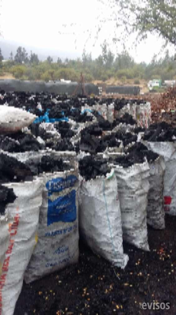 Carbon para asado por sacos