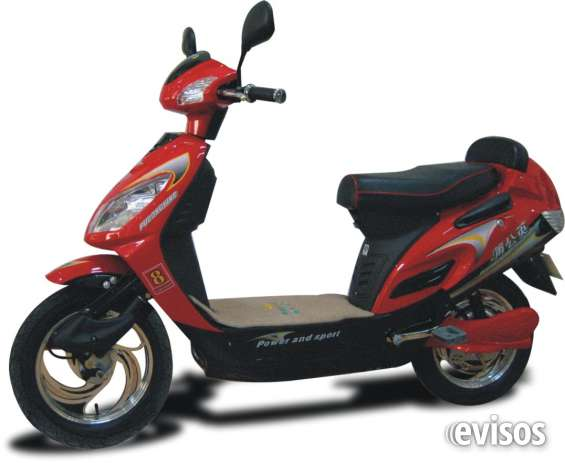 Bicicleta electrica tipo scooter