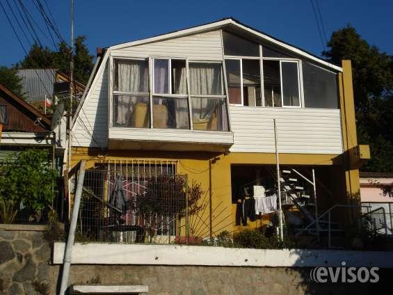 2 casas con gran rentabilidad, subida santa inés, viña del mar