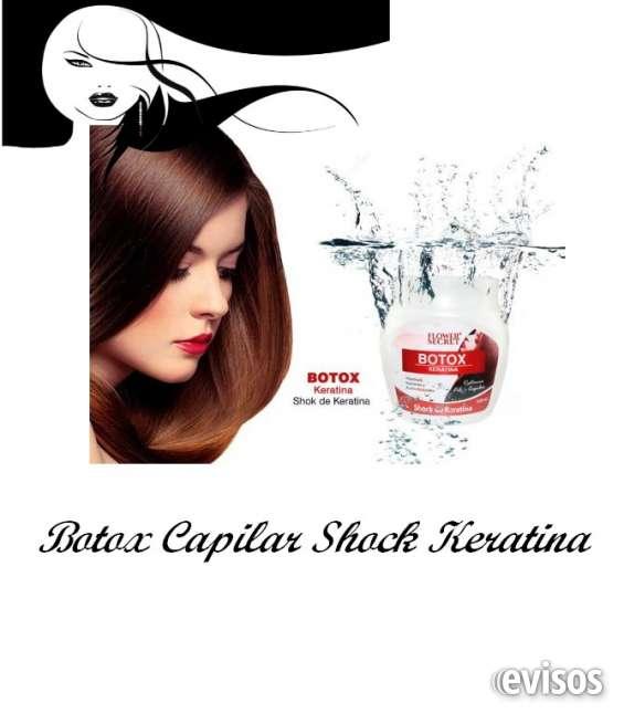 Fotos de Botox capilar