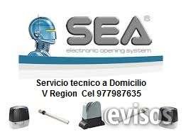 Portones sea , servicio tecnico v region