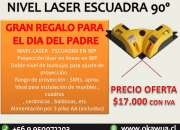Nivel laser escuadra 90º regalo para dia del PAPA