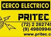 Cercos eléctricos, cámaras de seguridad, eficiencia energética.