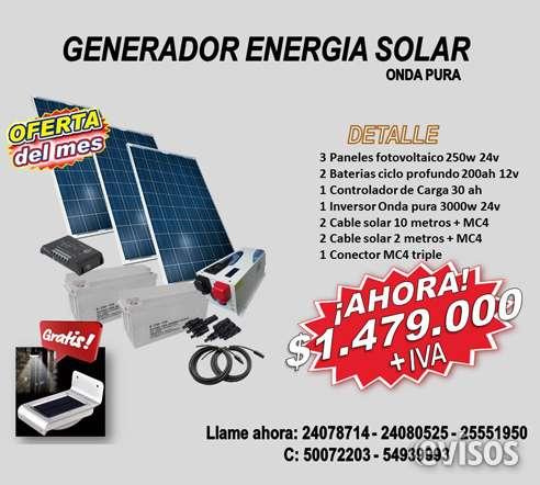 Energia solar kit solar 3kw sistema aislado