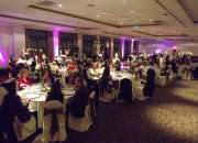 Eventos, fiestas y matrimonios. amplificación, iluminación y animación